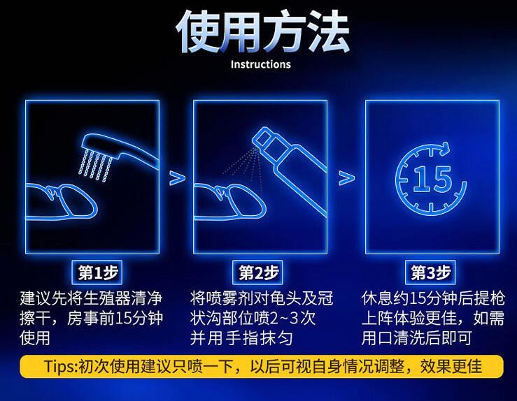 优能佳喷剂使用方法图,喷剂怎么用